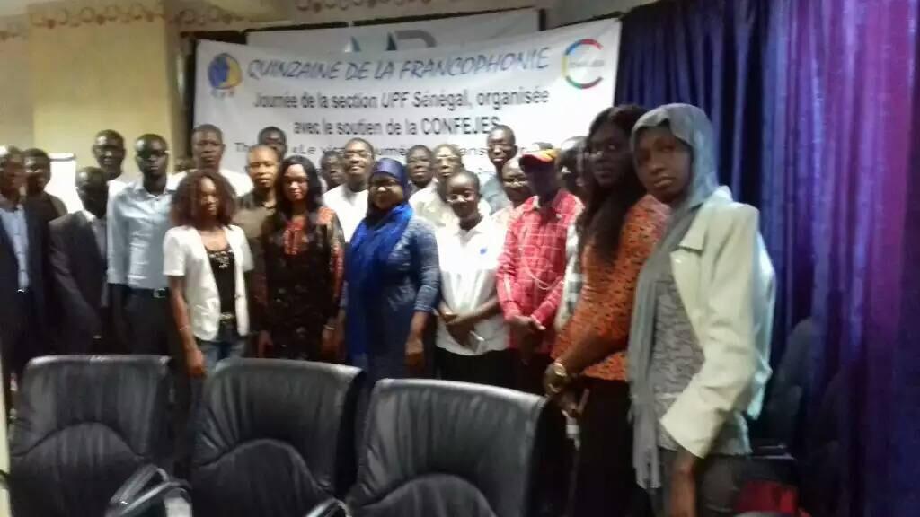 La CONFEJES en appui à la section Sénégal de l'Union de la Presse Francophone (UPF)