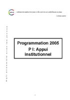 programmation-2005