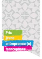 Brochure – Prix jeune entrepreneur(e) francophone