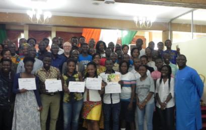Cloture de la session de formation sur le bénévolat, tenue à Abidjan, en prélude des 8èmes Jeux de la Francophonie