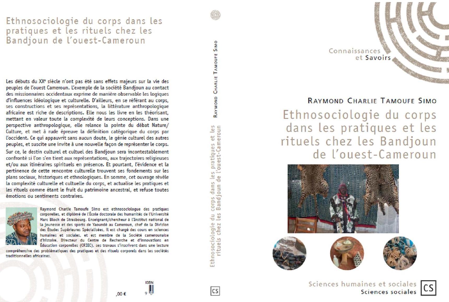 Développement de la recherche, Dr Tamoufe SIMO publie : Ethnosociologie du corps dans les pratiques et les rituels chez les Bandjoun de l'Ouest-Cameroun