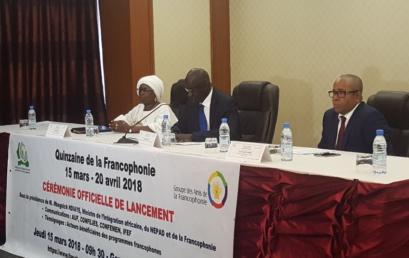 Lancement officiel de la Quinzaine de la Francophonie