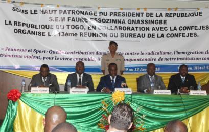 13èmeréunion du Bureau de la CONFEJES:41 décisions importantes prises à Lomé