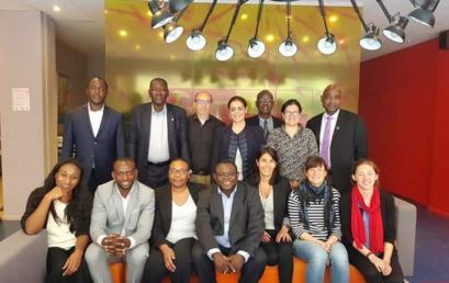 Participation de la  campagne à la réunion d'installation du Comité ad hoc de labellisation du volontariat international  des jeunes en Francophonie » (VIJEF).