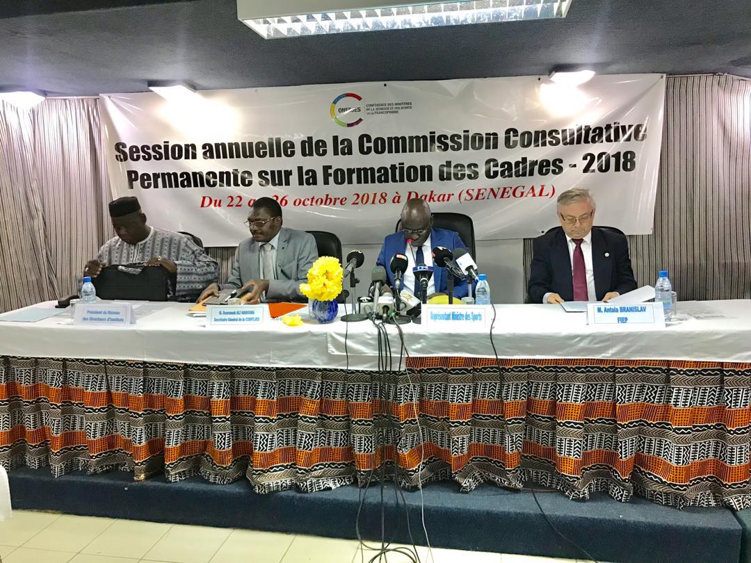 Le Sénégal réunit les Directeurs des Instituts de Formation des Cadres pour la session annuelle de la Commission Consultative Permanente (CCPFC)