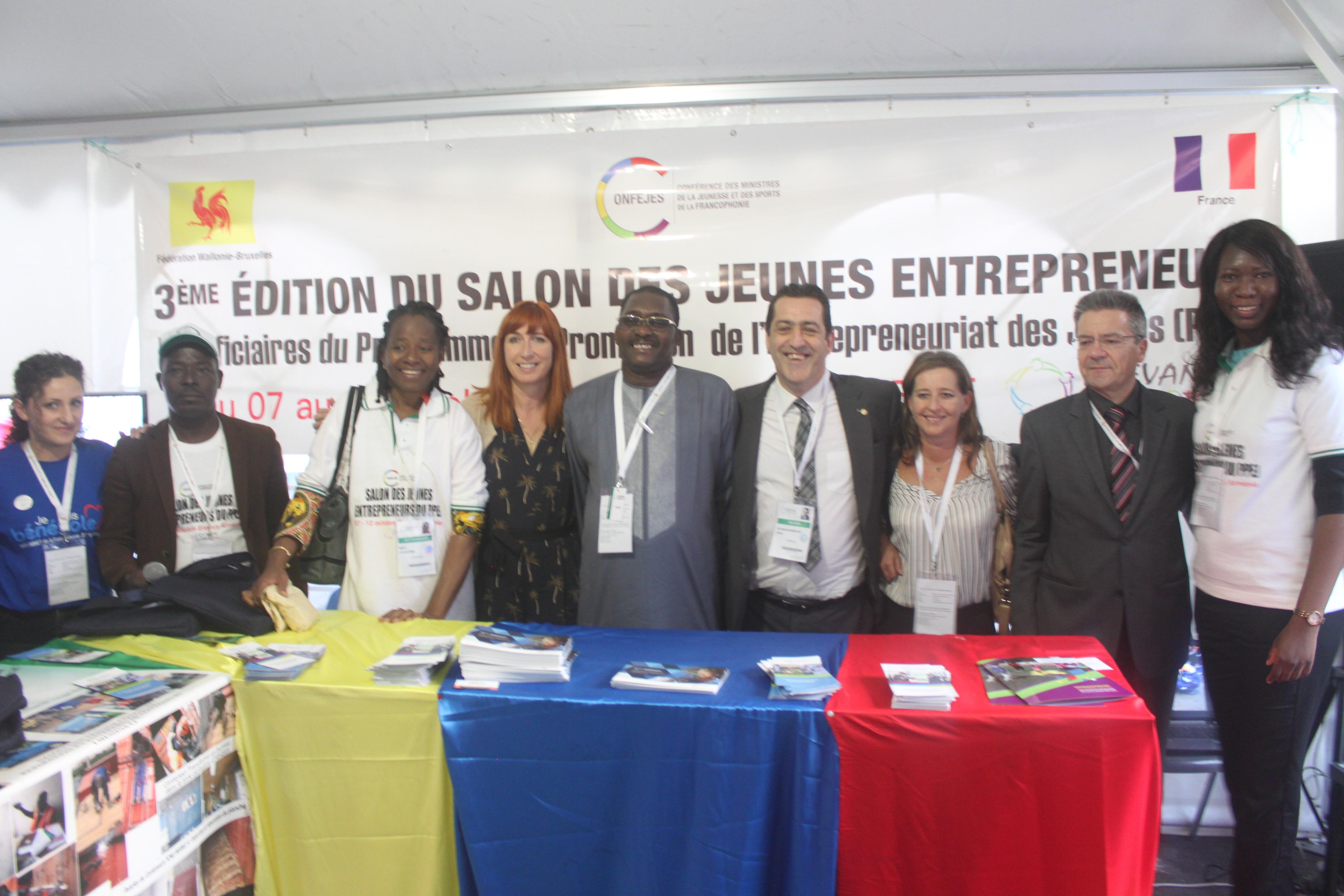 L'entrepreneuriat jeune francophone mis en lumière par la CONFEJES au Sommet de la Francophonie