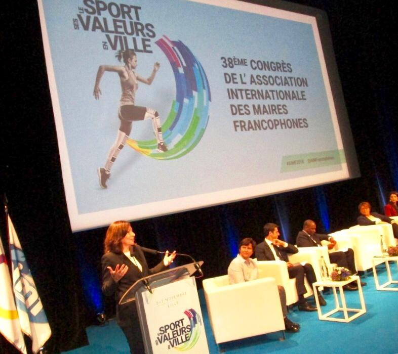 Villes et sport au service du développement et du mieux vivre ensemble.