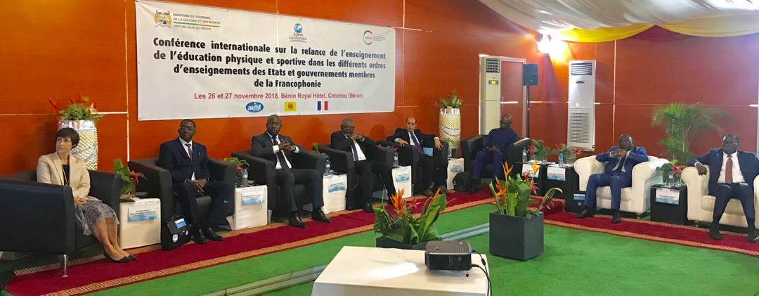 Ouverture de la Conférence Internationale sur la relance de l'Education Physique et Sportive (CIEPS) dans les différents ordres d'enseignement des Etats et Gouvernements membres de la Francophonie