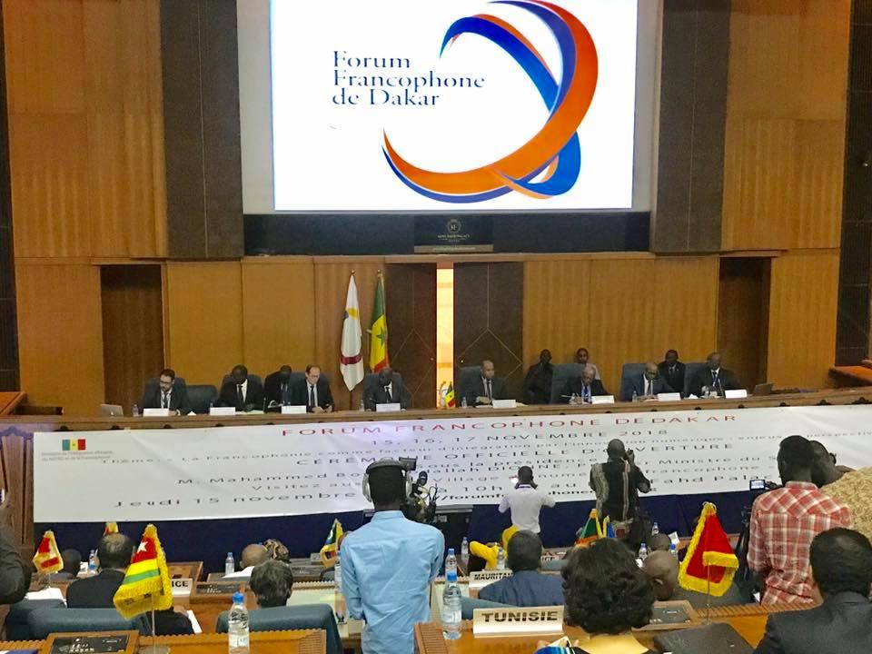 Participation de la CONFEJES au Forum Francophone de Dakar
