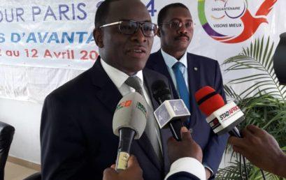 Camp d'entrainement CONFEJES préparatoire au championnat d'Afrique d'Athlétisme et le lancement du projet contingent Paris 2024