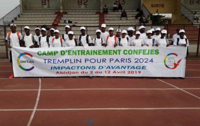 Camp d'entrainement CONFEJES Abidjan
