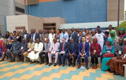 La coordination des Conseils nationaux de la Jeunesse des pays du G5 Sahel (CCNJ-G5 sahel), portée sur des fonds baptismaux