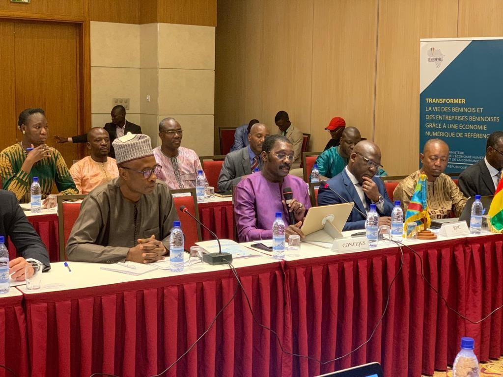 La CONFEJES participe à la 1ère concertation régionale de l'Afrique francophone du Réseau francophone des Ministres en charge de l'économie numérique