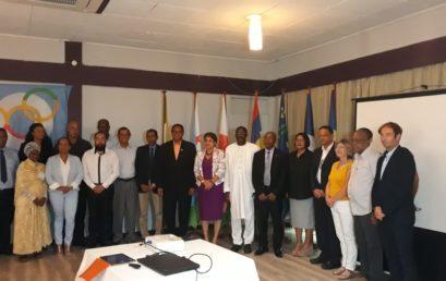 Participation de Monsieur le Secrétaire Général de la CONFEJES à la réunion ministérielle de la Commission Jeunesse et Sport de l'Océan Indien (CJSOI) à Mahé aux Seychelles