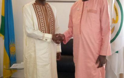 le secrétaire général de la CONFEJES reçu par l'ambassadeur du Rwanda au Sénégal