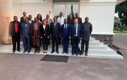 Le secrétaire Général de la Confejes participe à la mission d'évaluation de la candidature de la République Démocratique du Congo pour l'organisation des IXe jeux de la Francophonie en 2021.