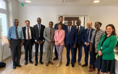 Le Secrétaire Général de la CONFEJES participe à une session de travail sur le numérique pour la Francophonie à Paris