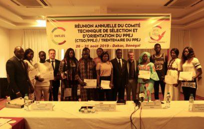 Session 2019 du Comité Technique International de Sélection et d'Orientation (CTSO) du PPEJ