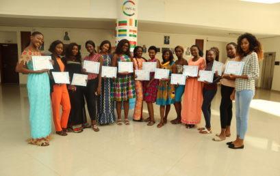 La CONFEJES a organisé pendant 3 jours une session de renforcement des capacités en entrepreneuriat aux lauréates du concours « Reine des Grandes Ecoles »