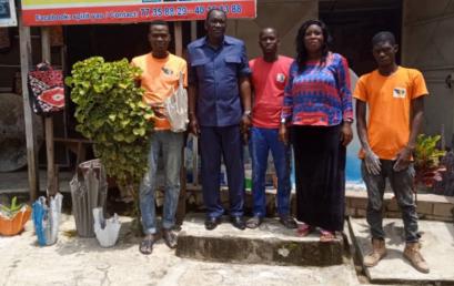 La CONFEJES en côte d'ivoire pour le suivi des jeunes promoteurs du PPEJ