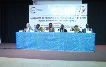 célébration du trentenaire du Programme de Promotion de l'Entrepreneuriat des Jeunes (PPEJ)