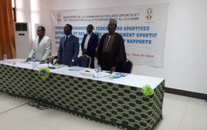 Participation de Monsieur le Secrétaire Général à la journée d'échange entre le Ministère des sports et le Mouvement olympique du Togo