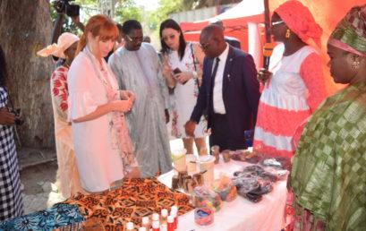 Inauguration du salon d'exposition des jeunes entrepreneurs dans le cadre de la célébration du cinquantenaire de la CONFEJES