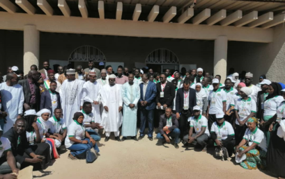 Tillabéri : Aux côtés de la CONFEJES, les jeunes s'engagent pour la paix et la sécurité.