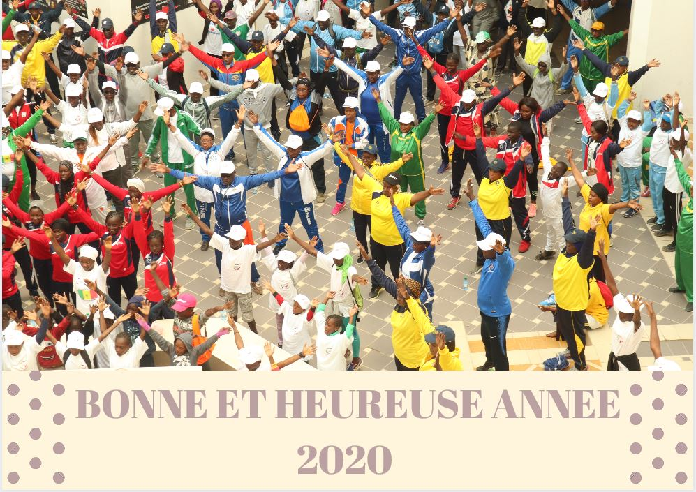 VOEUX DU SECRETAIRE GENERAL DE LA CONFEJES POUR L'ANNEE 2020