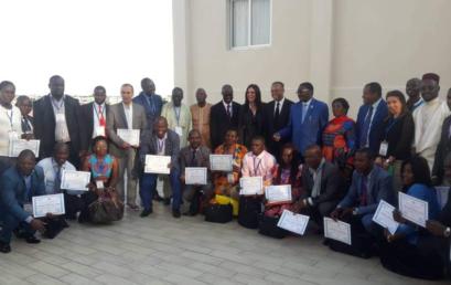 Le handicap, les infrastructures sportives et les centres de jeunes, au cœur de trois (3) sessions de formation au Gabon.