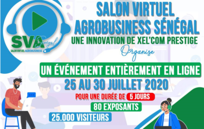 La CONFEJES participe au 1er Salon Virtuel Agrobusiness Sénégal.