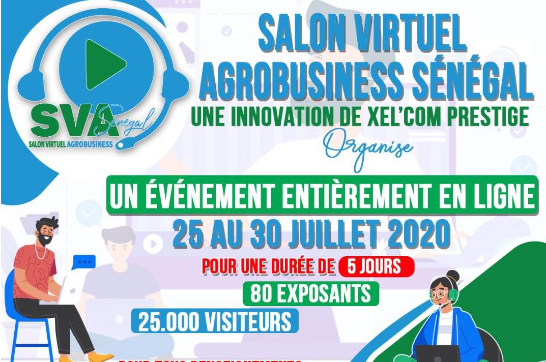 participez au 1er Salon Virtuel Agrobusiness Sénégal.