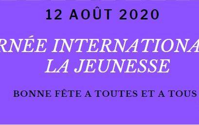 Journée Internationale de la Jeunesse 2020 / Message du Secrétariat Général de la CONFEJES